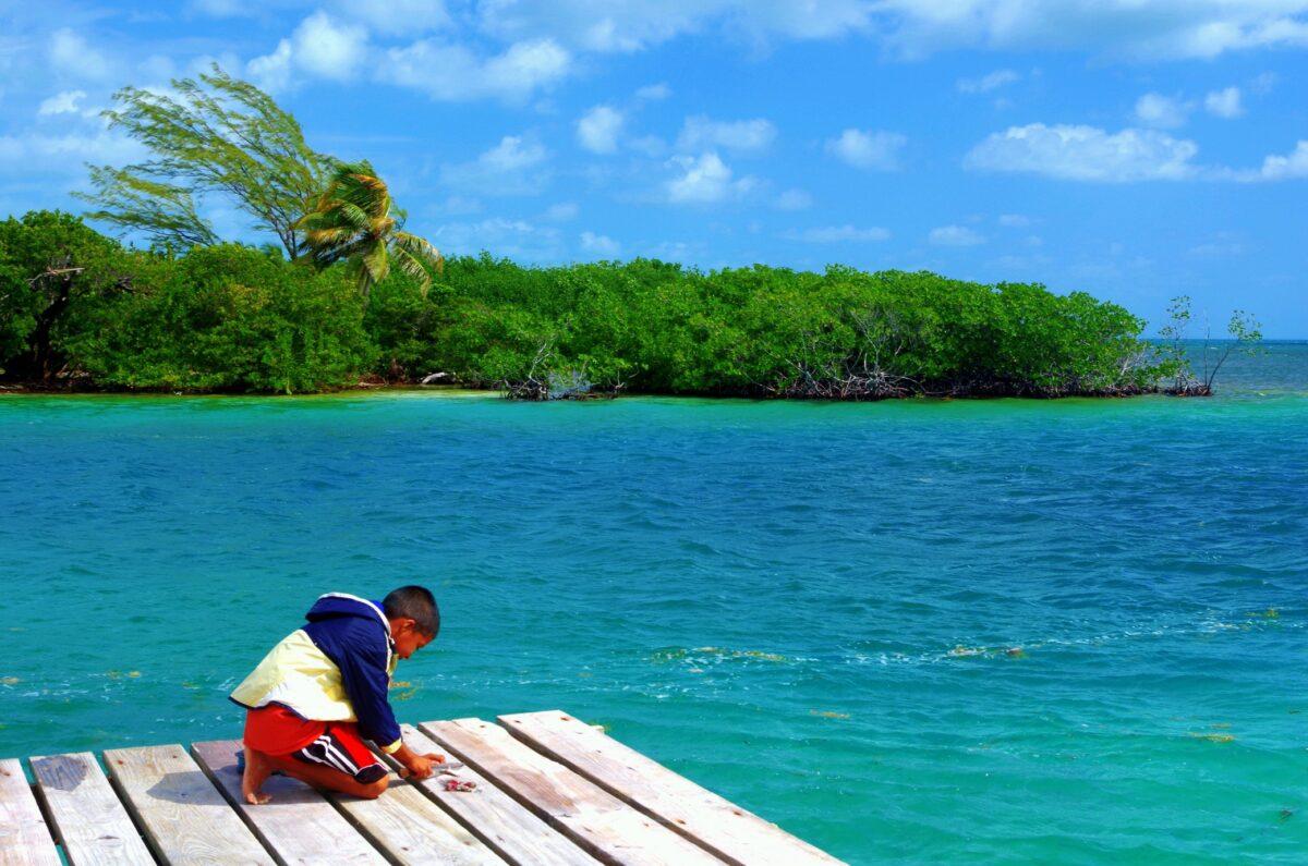 Partie de pêche au paradis