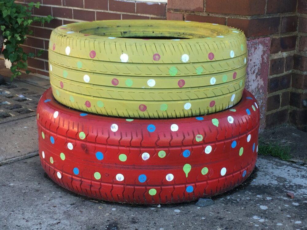 pneu recyclé