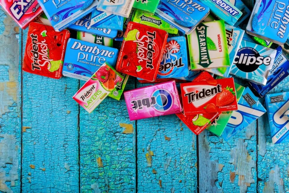 fabrication chewing-gums